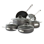 All-Clad Hard Anodized Nonstick 10 Piece Cookware Set