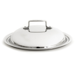 All-Clad D5 Brushed Stainless Steel 11 Inch French Skillet or 5.5 Quart Dutch Oven Domed Lid