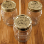 Kilner 17 Ounce Glass Preserve Jar, Set of 3