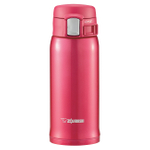Zojirushi Red Stainless Steel Vacuum Insulated Travel Mug, 12 Ounce