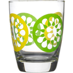 Sagaform Juicy 12.75 Ounces Green Drinking Glasses, Set of 4