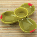 Home Gourmet Collections Olive Serving Dip Bowl