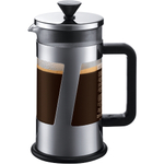 Bodum Crema Chrome Press Coffee Maker, 3 Cup