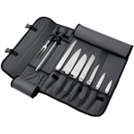 Mercer Innovations Black Nylon 10 Pocket Knife Case