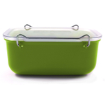 Click Clack Green Locking Everyday Storage Container, 0.9 Quart