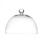 Fortessa La Porcellana Bianca Arezzo 8.25 Inch Glass Dome