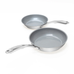 Chantal Induction 21 Steel Ceramic Coated Steel 2 Piece Fry Pan Set