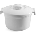 Nordic Ware White Microwave Rice Cooker