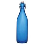 Bormioli Rocco Giara Navy 33.75 Ounce Glass Bottle