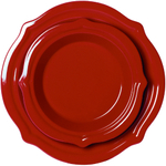 Chantal Apple Red Talavera 2 Piece Pie Dish Set