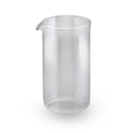 BonJour Universal French Press Replacement Glass Carafe, 3 Cup