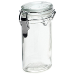 RSVP Oval Glass Spice Bottle