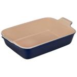 Le Creuset Heritage Indigo Stoneware 2.5 Quart Rectangular Dish