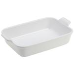 Le Creuset Heritage White Stoneware Rectangular Dish, 4 Quart