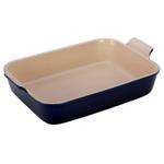 Le Creuset Indigo Heritage Stoneware 4 Quart Rectangular Dish