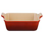 Le Creuset Heritage Cherry Stoneware 9 Inch Square Baking Dish