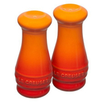 Le Creuset Flame Stoneware Salt and Pepper Shaker Set