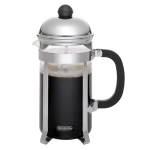 BonJour Monet 8-Cup Black French Press with Scoop