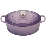 Le Creuset Signature Provence Enameled Cast Iron 5 Quart Oval Dutch Oven