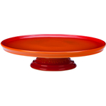 Le Creuset Flame Stoneware Cake Stand