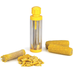 RSVP Yellow Platic and Stainless Steel Deluxe Corn Kernel Stripper