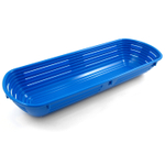 Scandicraft Blue Rectangular Plastic Bread Proofing Bowl, 6 Cup