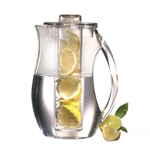 Prodyne Fruit Infusion Clear Acrylic 2.9 Quart Natural Fruit Flavor Pitcher
