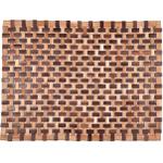 Entryways Douglas Natural Exotic Rubberwood Mat, 18 X 30 Inch