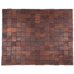 Entryways Mather Natural Exotic Rubberwood Mat, 18 X 30 Inch