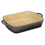 Le Creuset Signature Oyster Enameled Cast Iron 5.25 Quart Rectangular Roaster