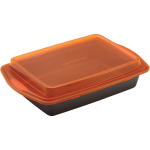 Rachael Ray Covered Cake Pan, 9 x 13 Inch