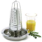 Norpro Stainless Steel Vertical Poultry Roaster with Infuser