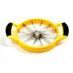 Norpro Grip-EZ Yellow Plastic and Stainless Steel Melon Cutter