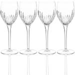 Luigi Bormioli Incanto 9.25 Ounce White Wine Glass, Set of 4