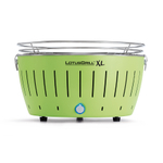 LotusGrill XL Lime Green Smokeless Charcoal Grill With Transport Bag