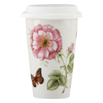 Lenox Butterfly Meadow 12 Ounce Thermal Travel Mug