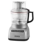 KitchenAid KFP0922CU Contour Silver 9-Cup Food Processor