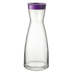 Bormioli Rocco Ypsilon Brio 36.5 Ounce Jug With Purple Lid