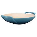 Le Creuset Marine Stoneware 28 Ounce Wok Dish