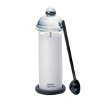BonJour Caffe Brushed Stainless Steel Manual Milk Frother