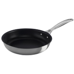 Le Creuset Tri-Ply Stainless Steel Nonstick 9.5 Inch Deep Fry Pan