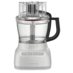 KitchenAid KFP13WBOB 13 Cup Food Processor Work Bowl Accessory with Black Handle