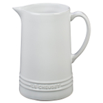 Le Creuset White Stoneware 1.6 Quart Pitcher