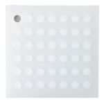 Lamson Clear Silicone Original HotSpot 7 Inch Trivet