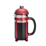 BonJour Maximus 8-Cup Candy Apple Red French Press with Scoop