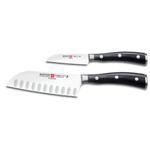 Wusthof Classic Ikon 2 Piece Mini Asian Knife Set
