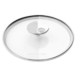 Mauviel M'Cook Stainless Steel and Glass 6.3 Inch Lid