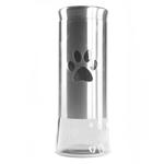 International Housewares Corp Glass and Stainless Steel 50 Ounce Pet Treat Jar