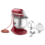 KitchenAid KSMC895ER Commercial Series Empire Red 8 Quart Bowl-Lift Stand Mixer with Stainless Steel Bowl Guard