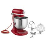KitchenAid KSM8990ER Commercial Series Empire Red 8 Quart Bowl-Lift Stand Mixer
